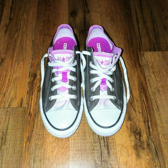 where to buy converse shoes, Purple All Star White Gray